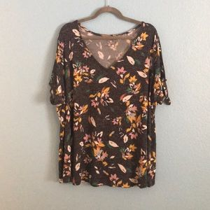 NWOT lane Bryant floral top (Size:22)